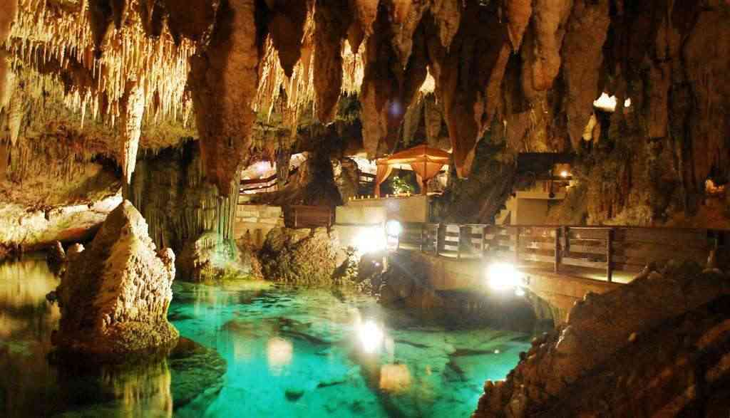 Inside Green Grotto Caves Jamaica